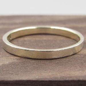 Jewelry - Size 7 Sterling Silver Simple Thin Band Ring